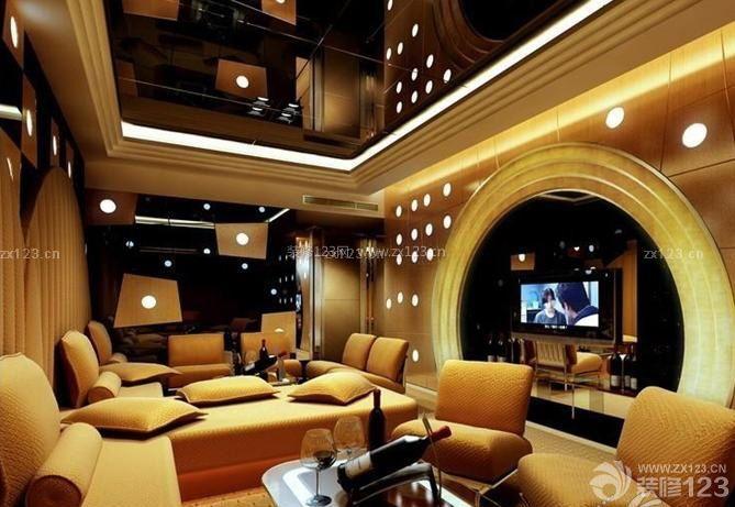 ktv大厅转角沙发设计图