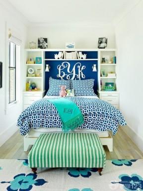 美式家装90后女生卧室装修风格图片