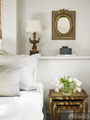 90后女生卧室白色墙面装修效果图片