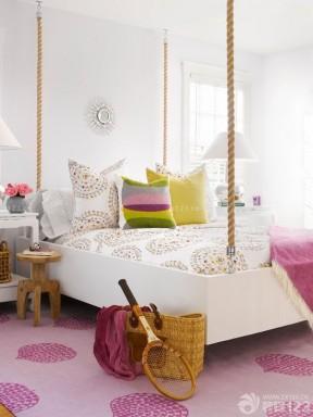 美式家装风格90后女生卧室装修图片