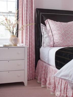 2020美式风格90后女生卧室装修图片欣赏