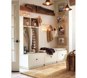 现代美式进门玄关装修样板房
