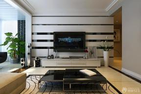 后现代风格客厅装修设计电视背景墙装修效果图