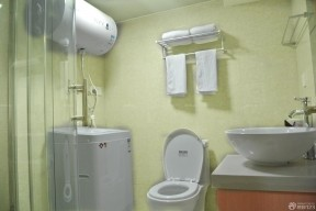 小户型酒店式公寓卫生间设计图