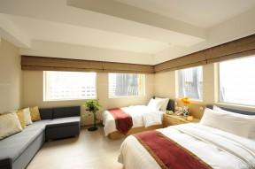 小户型酒店式公寓标间设计图