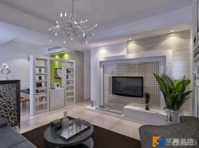 现代简约风格交换空间客厅装修图片