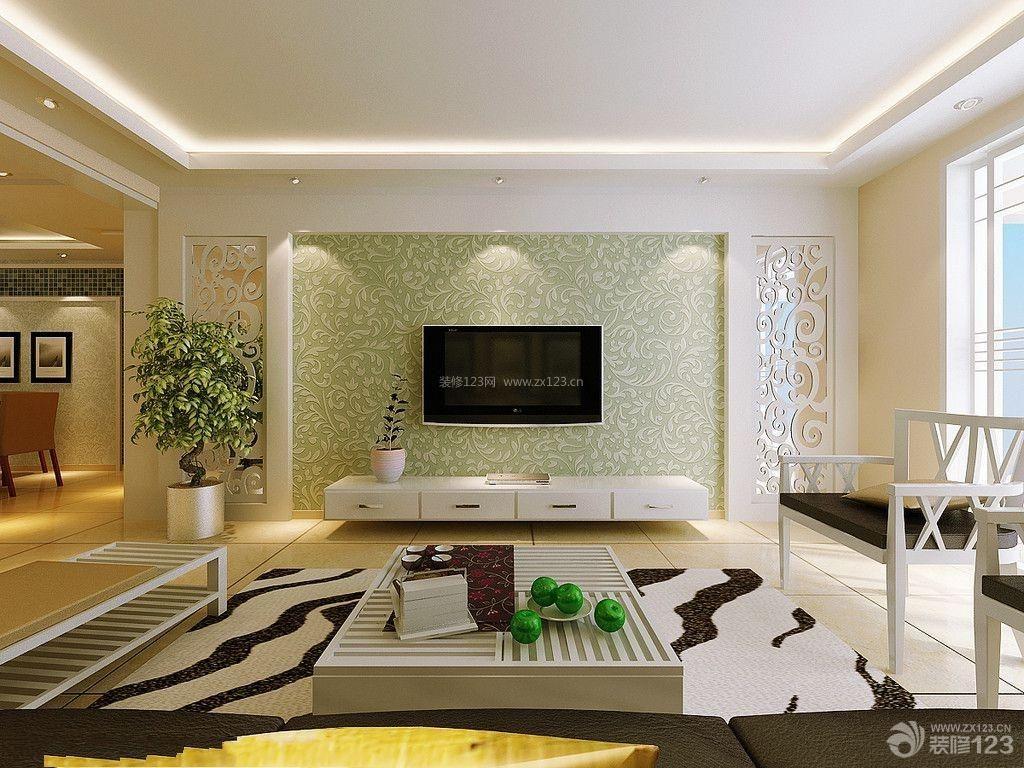 最新现代简约交换空间客厅装修图片