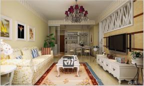 田园风格家居交换空间客厅装修图片