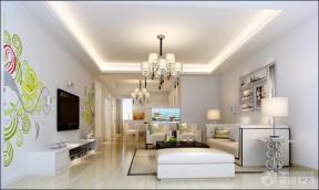 现代简约风格2013家装客厅效果图