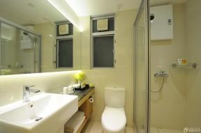 小户型酒店式公寓卫生间设计效果图