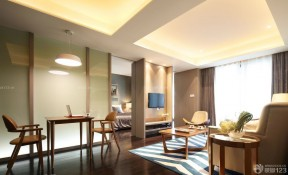 美式风格小户型酒店式公寓设计图