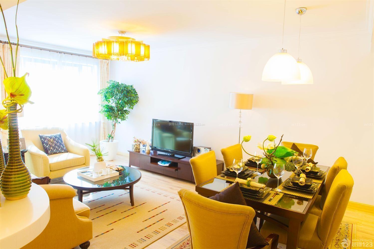 田园风格小户型酒店式公寓设计图