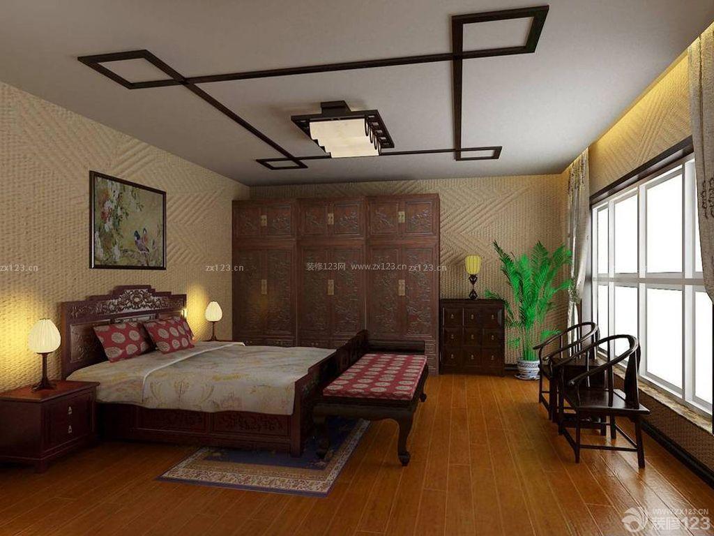 中式风格小户型酒店式公寓设计图